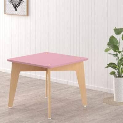 X&Y Weaning Table Pink