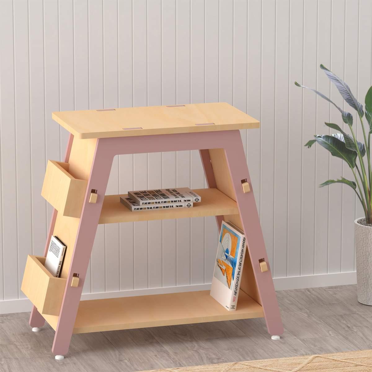X&Y Book Display Shelf